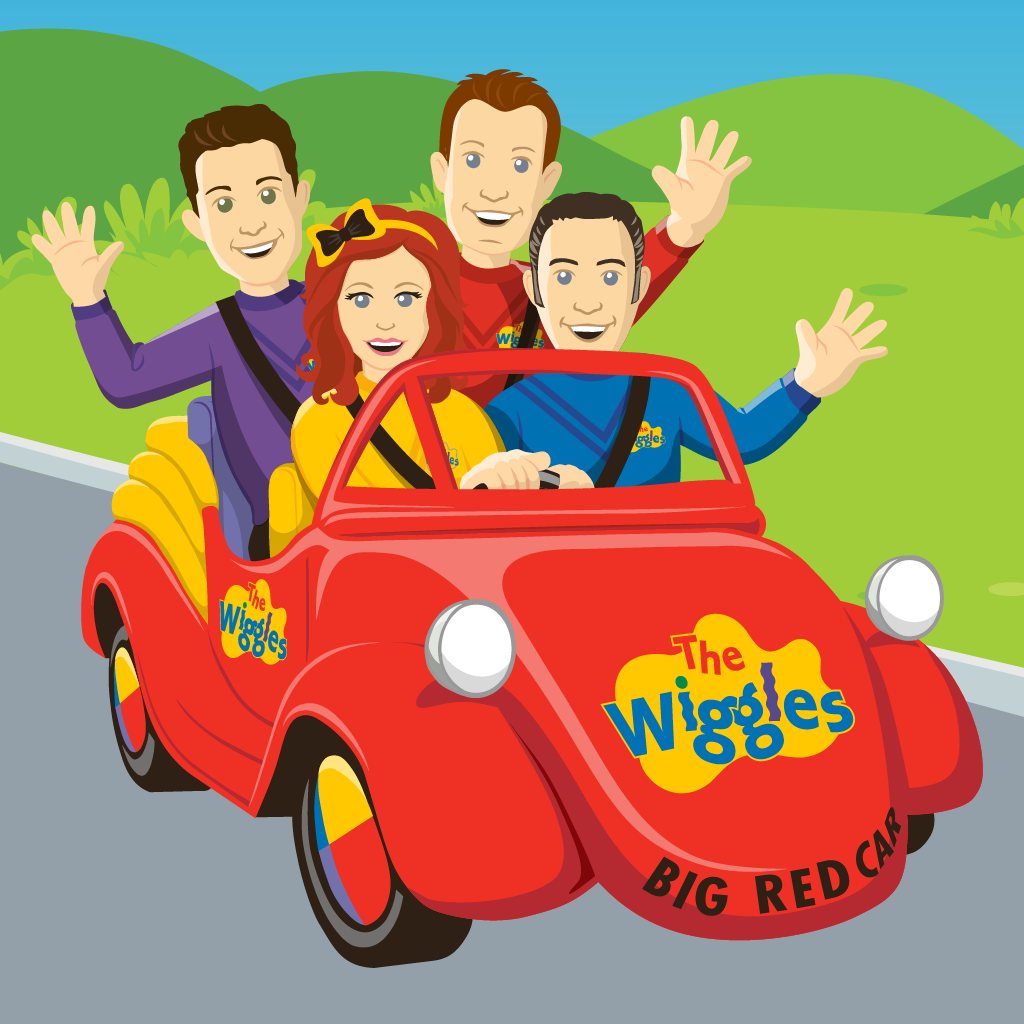 Wiggles Music Videos Big Red Car 24